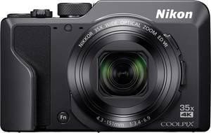 Nikon A1000 schwarz Digitális kamera 16 MPix Optikai zoom: 35 x Fekete Elektronikus kereső, Érintőkijelző Nikon