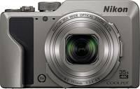 Nikon A1000 silber Digitális kamera 16 MPix Optikai zoom: 35 x Ezüst Elektronikus kereső, Érintőkijelző Nikon