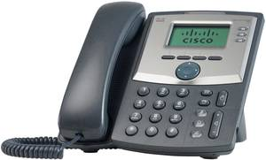 Rendszertelefon, VoIP Cisco SPA303-G3 LC kijelző Fekete (SPA303-G3) Cisco