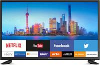 "Dyon SMART 40 Pro LED TV 100.3 cm 39.5 "" EEK A+ (A++ - E) DVB-T2, DVB-C, DVB-S, Full HD, Smart TV, WLAN Fekete (SMART 40 Pro) Dyon"