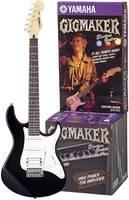 Yamaha EG112GPIIHII E-gitár készlet Fekete, Fehér Táskával, Erősítővel Yamaha