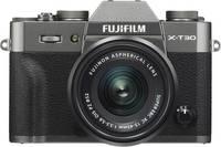 Fujifilm X-T30 XC 15-45 mm Rendszer-fényképezőgép 26.1 Megapixel Antracit Érintőkijelző, Elektronikus kereső, Kihajtha Fujifilm