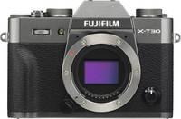 Fujifilm X-T30 Rendszer-fényképezőgép 26.1 Megapixel Antracit Érintőkijelző, Elektronikus kereső, Kihajtható kijelző, Fujifilm