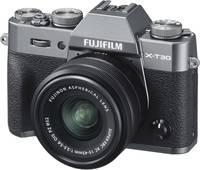 Fujifilm X-T30 XC 15-45 mm Rendszer-fényképezőgép 26.1 Megapixel Érintőkijelző, Elektronikus kereső, Kihajtható kijel Fujifilm