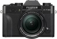 Fujifilm X-T30 XF18-55 mm Rendszer-fényképezőgép 26.1 Megapixel Fekete Érintőkijelző, Elektronikus kereső, Kihajtható Fujifilm