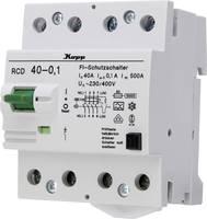 Kopp 754041016 Hibaáram védőkapcsoló A 40 A 0.1 A 230 V, 400 V Kopp