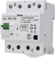 Kopp 754045010 Hibaáram védőkapcsoló A 40 A 0.5 A 230 V, 400 V Kopp