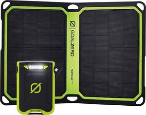 Goal Zero Solar-Kit Nomad 7+ - Venture 30 41050 Napelemes akkutöltő Töltőáram napelem (max.) 800 mA 7 W Kapacitás (mAh, Goal Zero