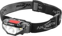 Ansmann HD70B LED Fejlámpa Elemekről üzemeltetett 65 lm 1600-0260 Ansmann