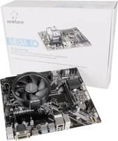Renkforce Számítógép tuning készlet AMD Ryzen 3 2200G (4 x 3.5 GHz) 8 GB AMD Radeon Vega Graphics Vega 8 Micro-ATX (AMD Set Ryzen3 2200) Renkforce