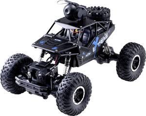 RC kezdő modellautó 4 kerék meghajtású akkuval és töltőkábellel 1:16