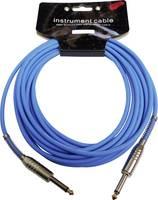 Hangszer csatlakozókábel [1x Jack-dugó, 6,35 mm-es - 1x Jack-dugó, 6,35 mm-es] 6.00 m Kék MSA Musikinstrumente KAB1 MSA Musikinstrumente