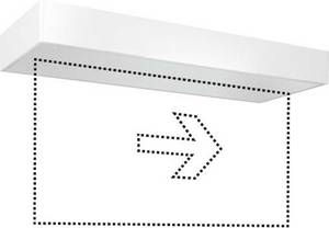 ESYLUX EN10077050 LED-es menekülési útvonal vészvilágítás jobb, bal ESYLUX