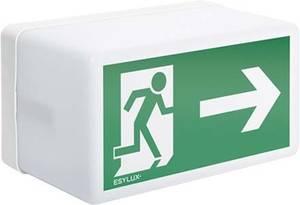 ESYLUX EN10026829 Menekülési útvonal vészvilágítás Mennyezetre szerelhető jobb ESYLUX