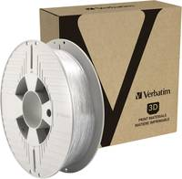 Verbatim 55151 3D nyomtatószál 1.75 mm 500 g Átlátszó 1 db Verbatim