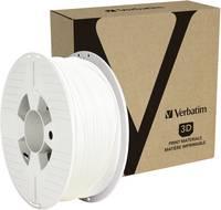 Verbatim 55050 3D nyomtatószál PETG 1.75 mm 1 kg Fehér 1 db Verbatim