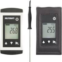 VOLTCRAFT PTM-110 + TG-400 Hőmérséklet mérőműszer -70 ... 250 °C Érzékelő típus Pt1000 IP65 VOLTCRAFT