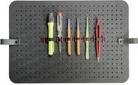 Lyukasztott tábla 1 db Parat 497000171 (H x Sz x Ma) 400 x 2 x 280 mm (497000171) Parat