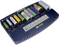 AccuPower IQ312 NiCd, NiMH, Lítiumion 10340, 10350, 10440, 10500, 12500, 12650, 13500, 13650, 14500, 14650, 16340, 16650 AccuPower