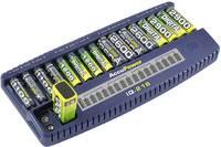 AccuPower IQ216 NiCd, NiMH Mikro (AAA), Ceruza (AA), 9 V-os Hengeres akku töltő AccuPower