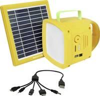Pro Mate SolarTorch1 SolarTorch-1 LED Kemping lámpa 90 lm Akkuról üzemeltetett Sárga Pro Mate