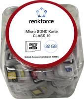 Renkforce mikro SD kártya 32 GB Class 10 Renkforce