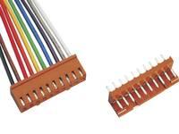 BKL Electronic Konfekcionált huzal Pólusok száma 2 Raszterméret: 2.50 mm 072500 1 készlet BKL Electronic