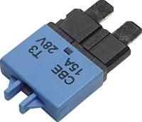 Hansor Circuit Breaker Standard, type 3, Manual Reset, 15A CBE3 Series 15A Biztosíték automata standard biztosíték 15 A Hansor