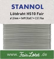 Stannol HS10Fair Forrasztóón, ólommentes Ólommentes Sn99.3Cu0.7 30 g 1 mm Stannol