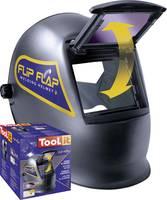 Toolit FLIP-FLAP 042513 Hegesztő védőpajzs Fekete EN 166, EN 168, EN 175 Toolit