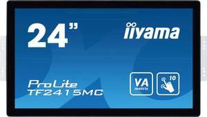 """Iiyama ProLite TF2415MC Érintőképernyős monitor 60.5 cm (23.8 """") EEK: A (A+++ - D) 1920 x 1080 pixel 16:9 16 ms HDMI™, V Iiyama"""