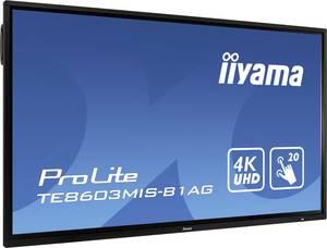 Iiyama ProLite TE8603MIS Digital Signage kijelző EEK: C (A+++ - D) 217.4 cm 85.6 coll 3840 x 2160 pixel 24/7 Iiyama