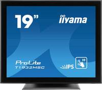 "Iiyama T1932MSC-B5AG LED monitor (felújított) 48.3 cm (19 "") EEK: B (A++ - E) 1280 x 1024 pixel 5:4 14 ms VGA, HDMI™, Ki (T1932MSC-B5AG) Iiyama"