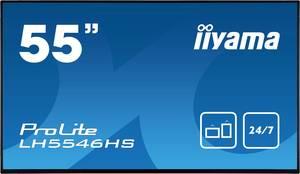 Iiyama ProLite LH5546HS Digital Signage kijelző EEK: A+ (A+++ - D) 138.8 cm 54.6 coll 1920 x 1080 pixel 24/7 Iiyama