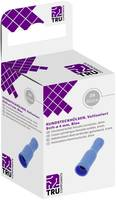 Kerek alj  1.50 mm² 2.50 mm²  Teljesen szigetelt Kék TRU COMPONENTS T1904C049 25 db TRU COMPONENTS