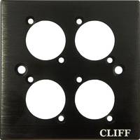 Cliff CP30500C Rögzítőlemez Fekete 1 db Cliff