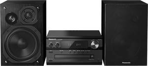 Panasonic SC-PMX94 Sztereo berendezés AUX, Bluetooth®, DAB+, CD, URH, High resolution audio 2 x 60 W Fekete Panasonic