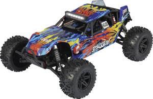 Reely Stagger Brushed 1:10 RC modellautó Elektro Buggy 4WD 100% RtR 2,4 GHz Akkuval, töltőkészülékkel és adóakkukkal Reely