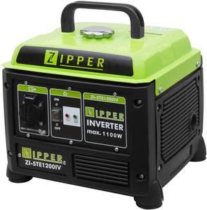 Zipper ZI-STE1200IV 4 ütemű motor Áramfejlesztő 1.1 kW 230 V 12 kg Zipper