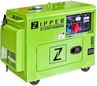 Zipper ZI-STE7500DSH Dízelmotor Áramfejlesztő 6.5 kW 230 V, 400 V 153 kg Zipper