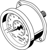 FESTO 159602 FMA-63-10-1/4-EN 0 ... 10 bar 1 db FESTO
