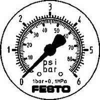 FESTO #####Manometer 161130 FMAP-63-6-1/4-EN 0 ... 6 bar 1 db FESTO