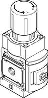 FESTO Precíziós nyomásszabályozó szelep 538008 MS6-LRP-1/4-D5-A8 G 1/4, G 1/5 Ház anyaga Alumínium Tömítőanyag NBR 1 db FESTO