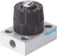 FESTO Nyomás szabályozó szelep 542023 GRP-160-1/8-AL G 1/8, G 1/9 Ház anyaga PA Tömítőanyag NBR, PVC 1 db FESTO