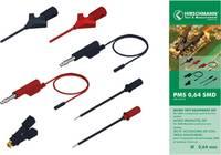 SKS Hirschmann PMS 0,64 SMD Mérővezeték készlet [ - ] Fekete, Piros SKS Hirschmann