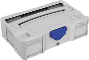 Szállító doboz ABS műanyag (Sz x Ma x Mé) 265 x 71 x 171 mm, Tanos MINI-systainer T-Loc I 80101365  Tanos