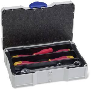 Tanos MINI-systainer T-Loc I 80590504 Szerszámos láda tartalom nélkül ABS műanyag, Polisztirén (Sz x Ma x Mé) 265 x 71 x Tanos