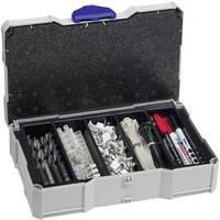 Tanos MINI-systainer® T-Loc I 80590506 Szerszámos láda tartalom nélkül ABS műanyag (Sz x Ma x Mé) 265 x 71 x 171 mm (80590506) Tanos