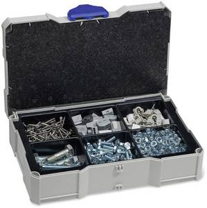 Tanos MINI-systainer® T-Loc I 80590508 Szerszámos láda tartalom nélkül ABS műanyag (Sz x Ma x Mé) 265 x 71 x 171 mm Tanos