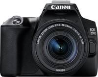 Canon EOS 250 D Digitális tükörreflexes fényképezőgép EF-S 18-55 mm IS 25.80 Megapixel Fekete 4k videó, Bluetooth, Forga Canon